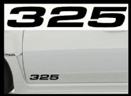 BMW 325 CAR BODY DECALS